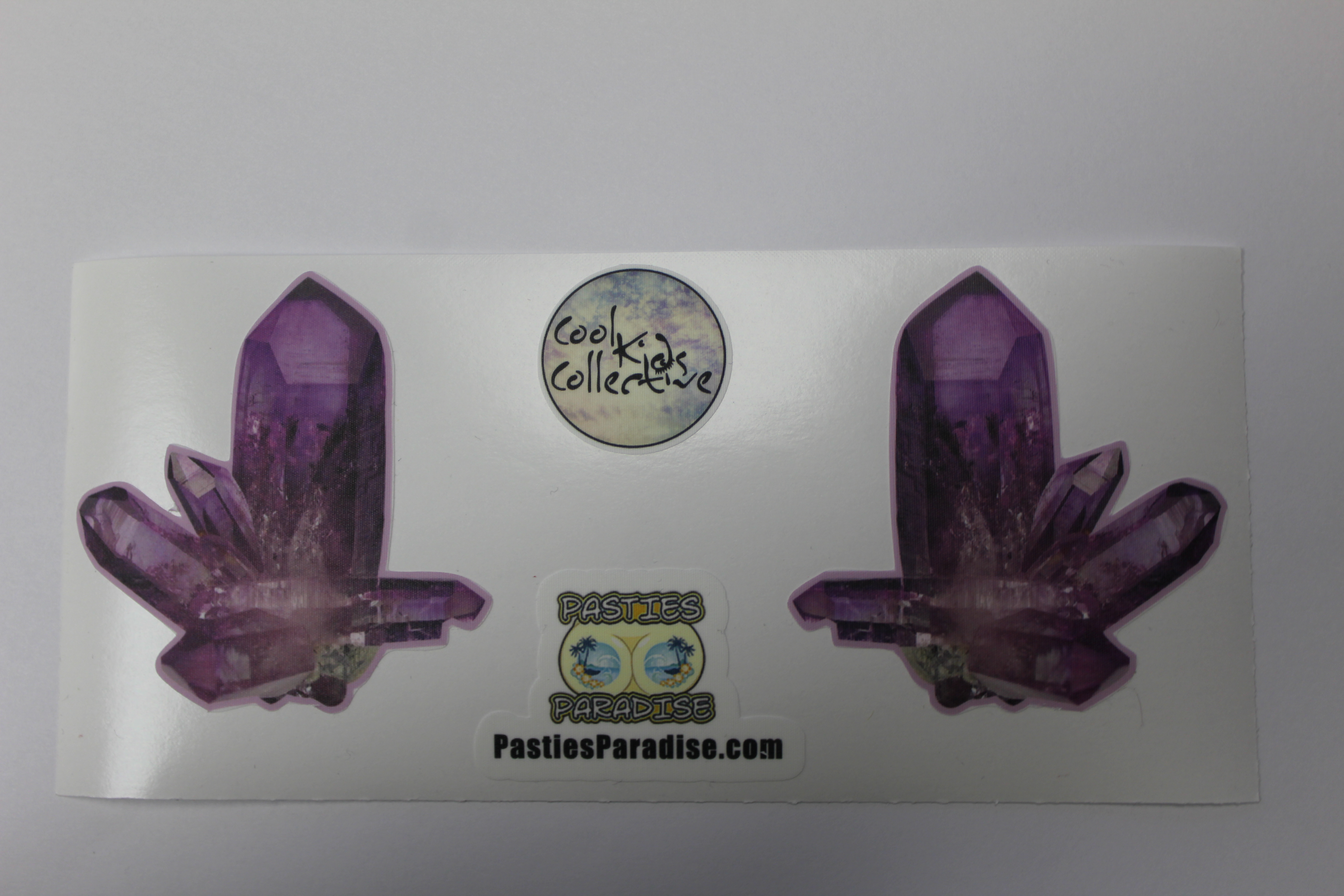 VIOLET QUARTZ PASTIES FROM PASTIES PARADISE.